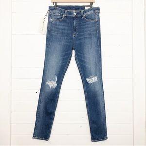 NWT Rag & Bone Bonnie High Rise Skinny Jeans